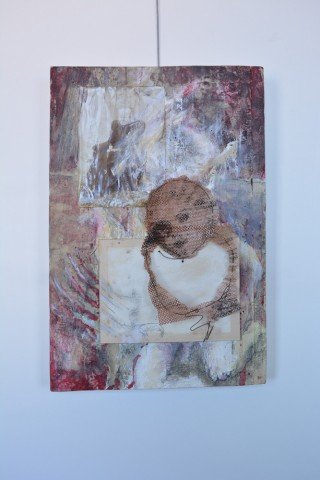 Mixed media wandobject Memoires 2013